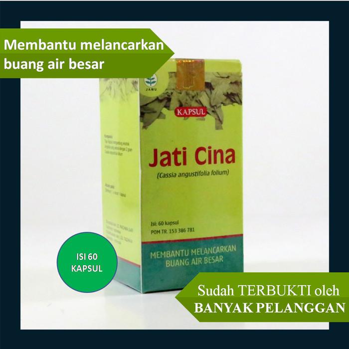 Foto Produk Kapsul ekstrak JATI CINA (Obat Susah Buang Air Besar) (100% bisa COD) dari alamiah.id