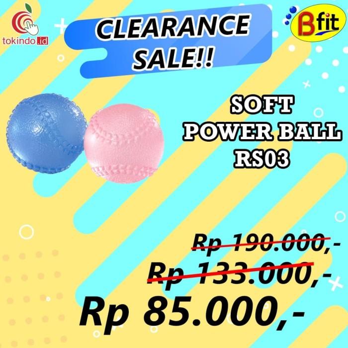 Bfit clubfit soft power ball (blue/pink)