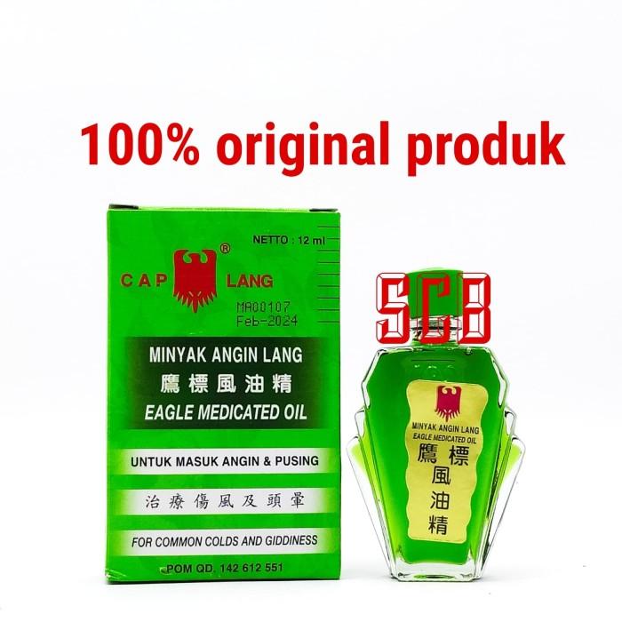 Foto Produk Minyak Angin Cap Lang 12ml dari Toko Obat SCB
