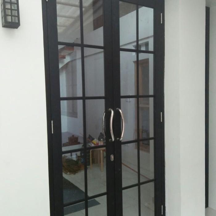 Jual pintu aluminium kaca doble ornamen - Kota Depok ...