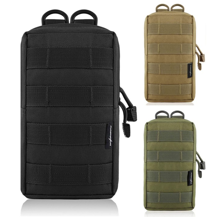 Foto Produk PROMO 600D Tactical EDC Molle Pouch Bag Outdoor Vest Waist Pack dari Evelyn Store07