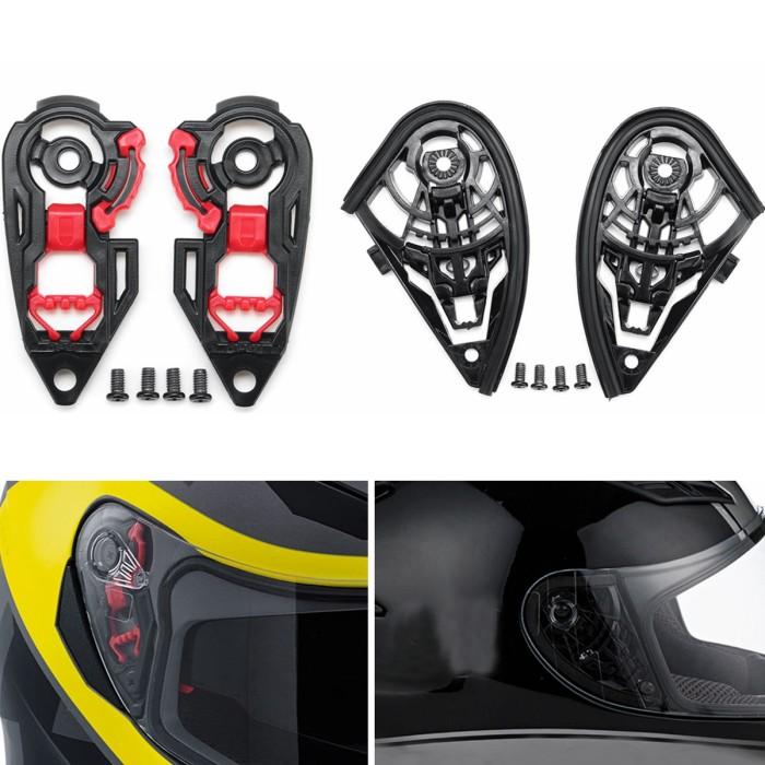 Jual Ori Motorcycle Helmet Visor Shield Gear Base Plate Set For Agv Jakarta Barat Nevi Shop Com Tokopedia
