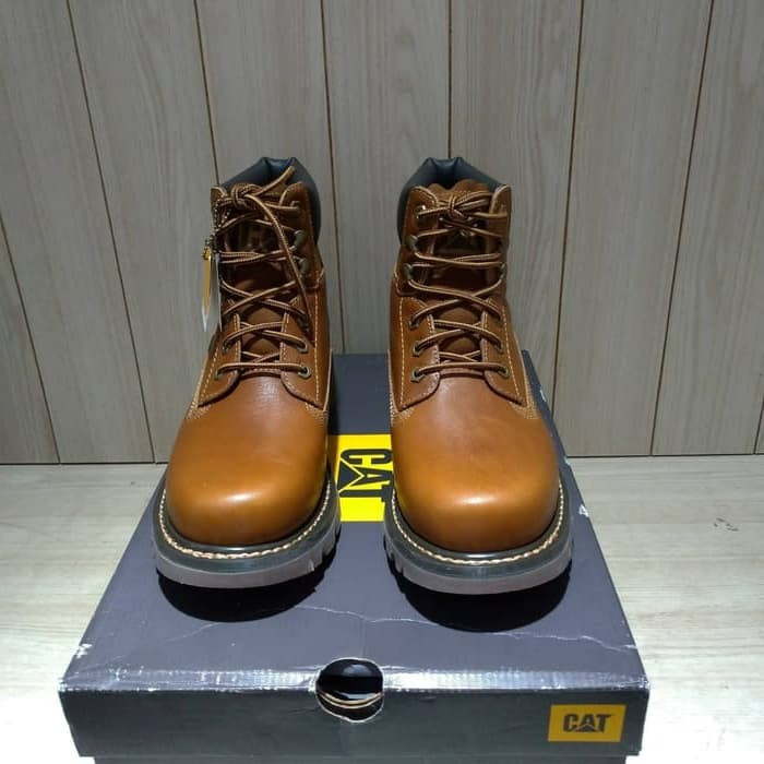 Jual Safety Shoes Pria Caterpillar