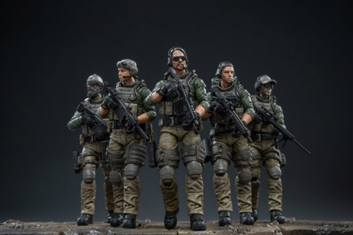 JoyToy 1//18 Soldier SWAT PVC Action Figure Collectible New In Stock