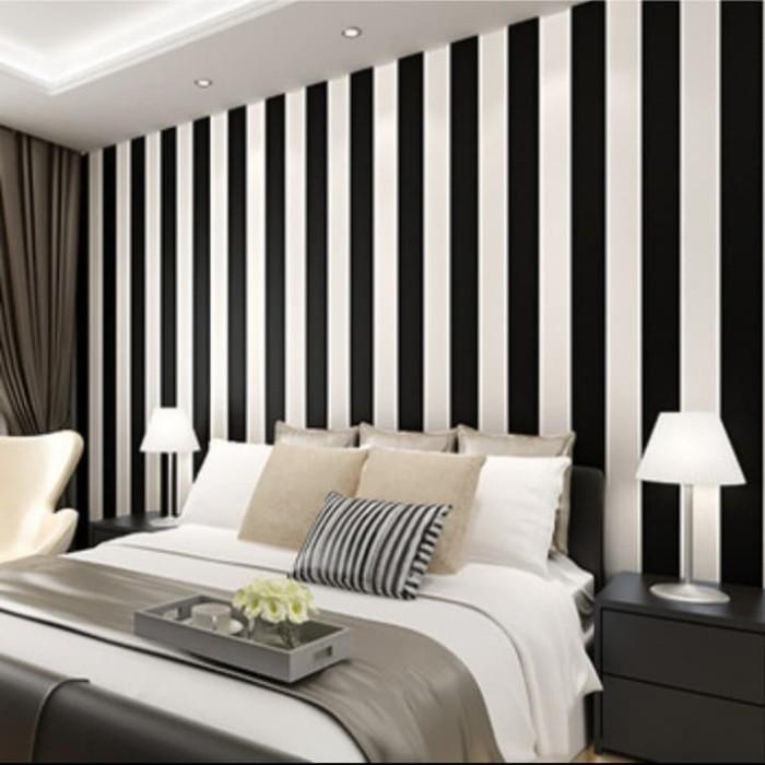Jual Sticker Wallpaper Dinding Minimalis Modern 100 Limited Edition Kab Kudus Kenkay Interior Tokopedia