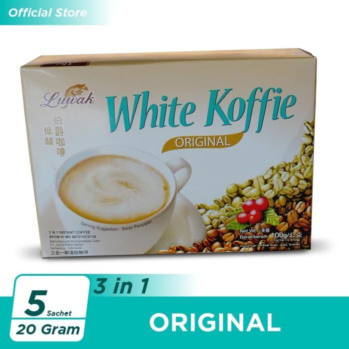 Foto Produk Kopi Luwak White Koffie Original Box 5x20gr dari Kopi Luwak Official