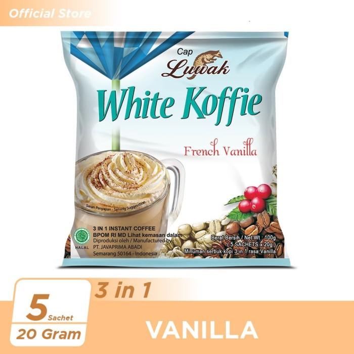 Foto Produk Kopi Luwak White Koffie French Vanilla Bag 5x20gr dari Kopi Luwak Official