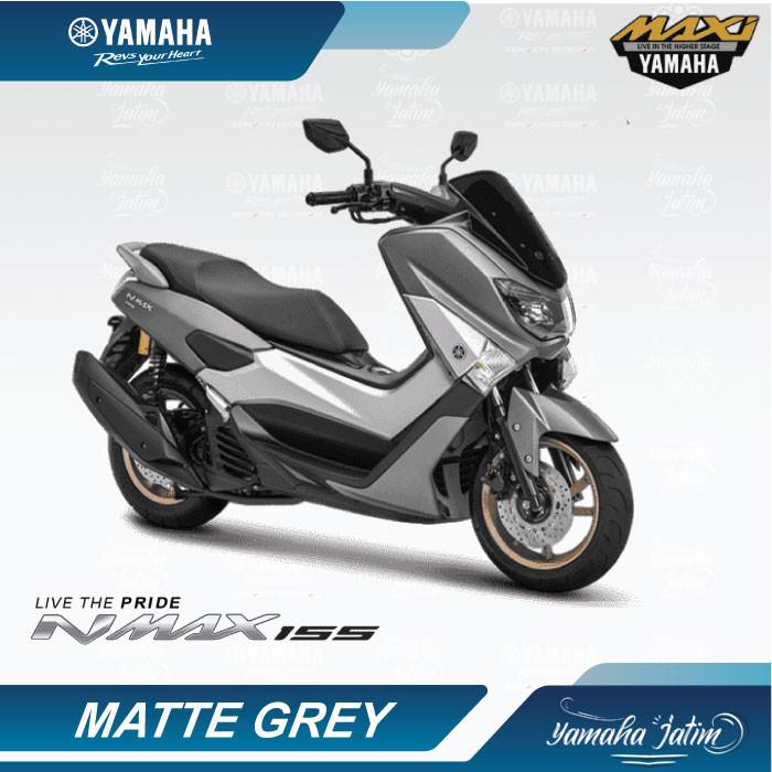 harga Sepeda motor yamaha nmax 155 non abs surabaya - abu-abu Tokopedia.com