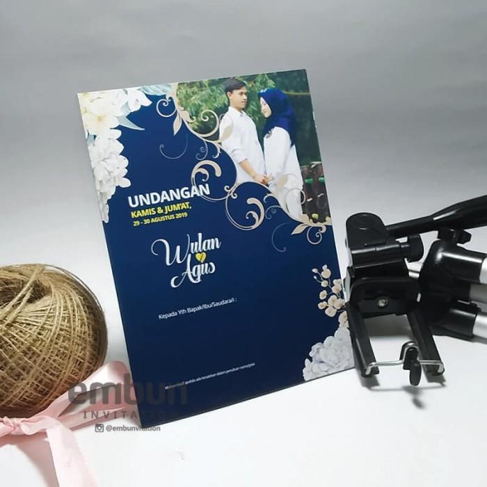 Jual Kartu Undangan Pernikahan Desain Cantik Simple Full Color Kode C 07 Kab Cianjur Embunvitation Tokopedia