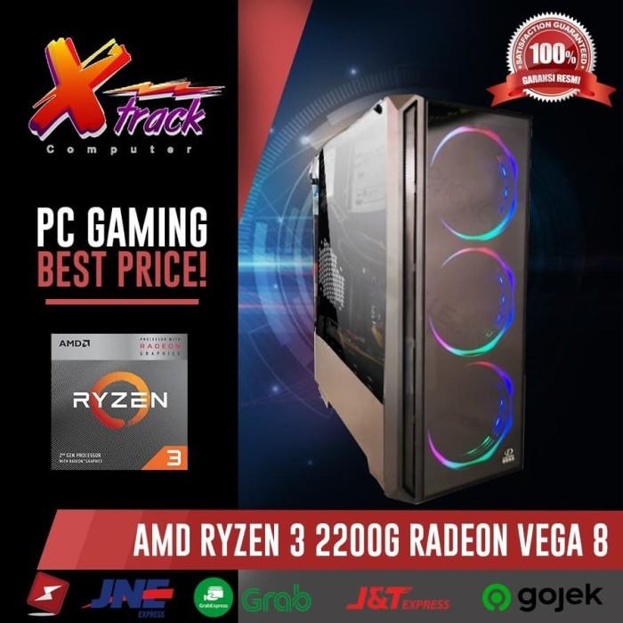 harga Pc gaming amd ryzen 3 2200 vga vega 8 hdd 500 gb Tokopedia.com