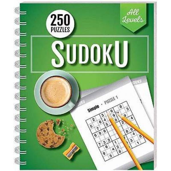 Foto Produk 250 Puzzles: Sudoku All Levels (wire-bound) - 9781488906534 dari Periplus