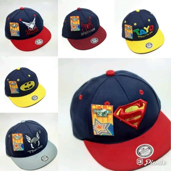 harga Topi anak snapback logo superman Tokopedia.com