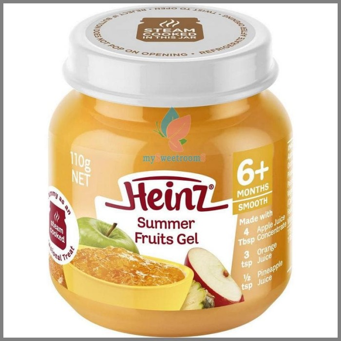 harga Heinz jar 6m summer fruit gel Tokopedia.com