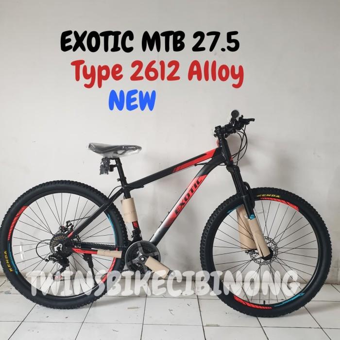 Jual Sepeda Gunung Exotic 2612 27.5 Alloy Kab. Bogor