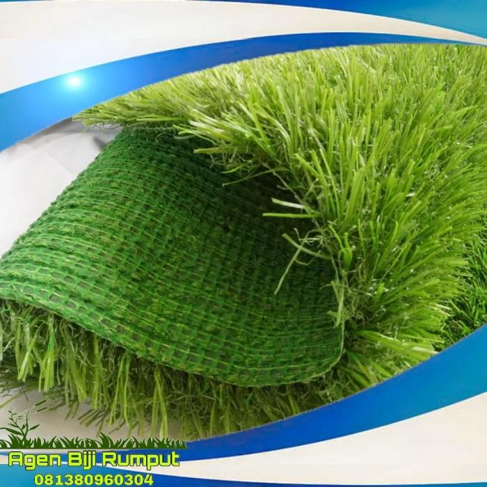 Foto Produk KARPET RUMPUT SINTETIS SWISS PER 20CM X 20CM - RUMPUT DEKORASI RUMAH dari Agen Biji Rumput
