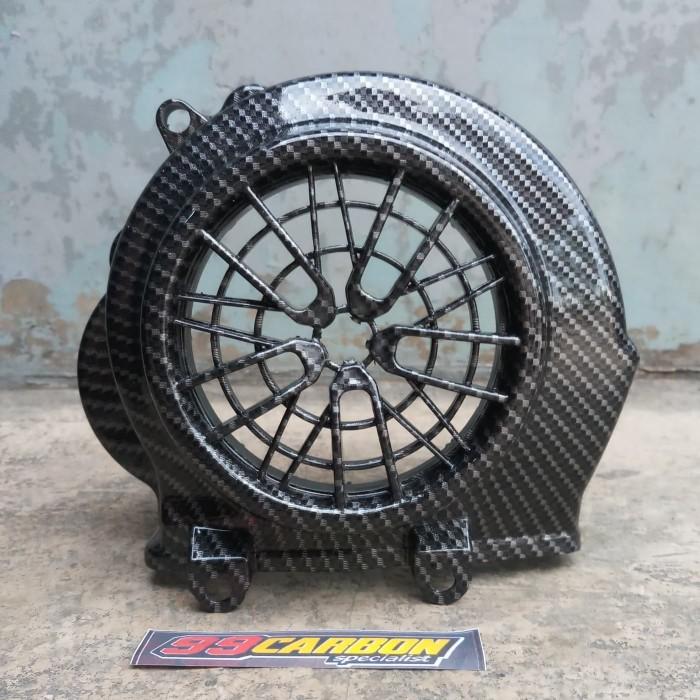 Foto Produk Tutup kipas beat esp new carbon karbon black dari variasi99motor