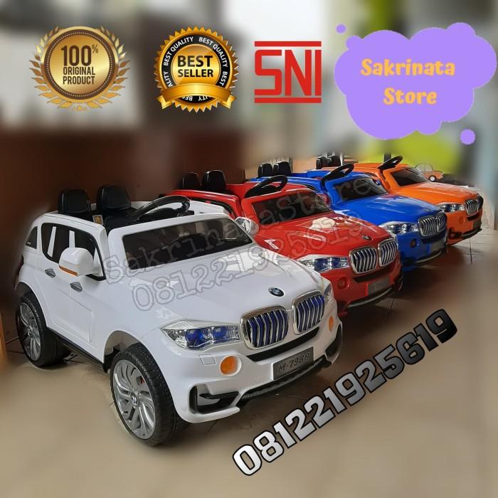 Foto Produk Mainan Anak Mobil Aki Pmb M-7988 BMW X5 dari sakrinatastore