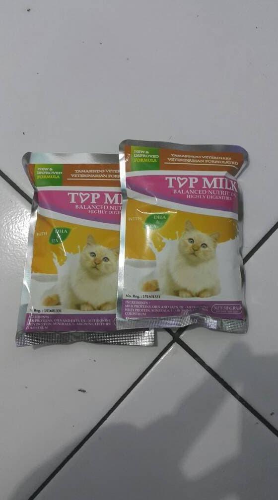 Jual Hot Sale Susu Kucing Dewasa Dan Kitten Formula Lengkap Top Milk Jakarta Selatan Yuyunpermatasari 01 Tokopedia