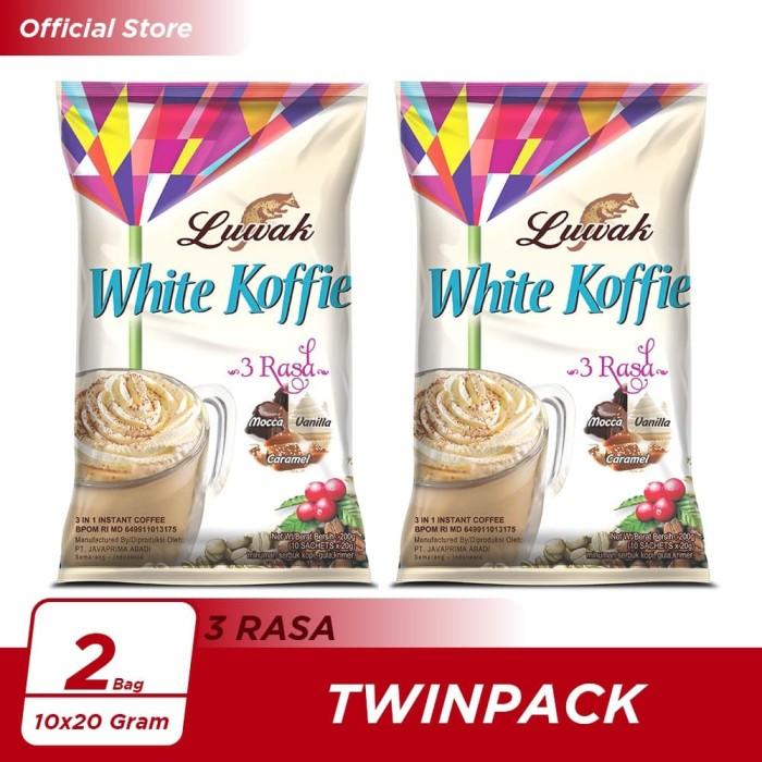 Foto Produk Kopi Luwak White Koffie 3 Rasa Bag 10x20gr Twin Pack dari Kopi Luwak Official