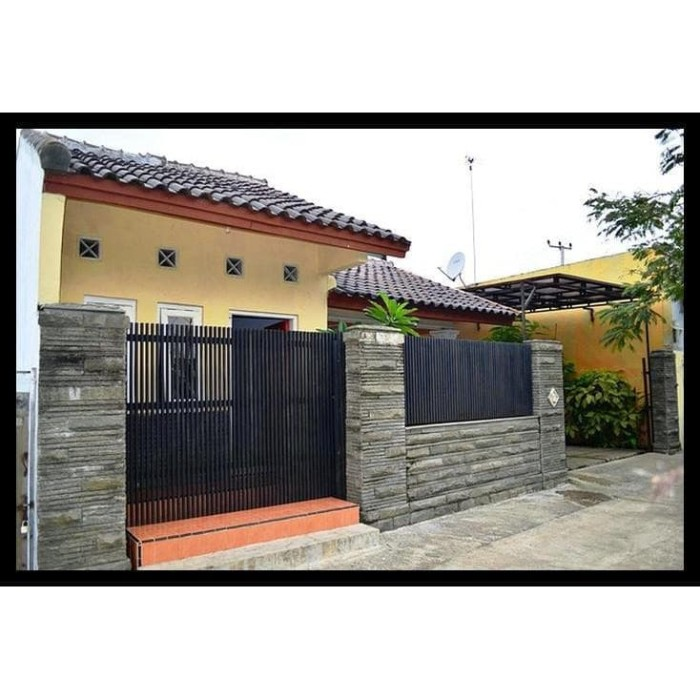 Jual Kualitas Terbaik Pagar Rumah Minimalis Dan Tralis Tembok Jakarta Selatan Salwaa Shop Tokopedia