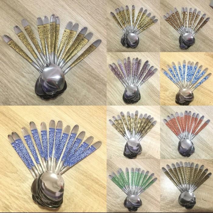 Foto Produk sendok batik isi 12 pcs dari jay acc