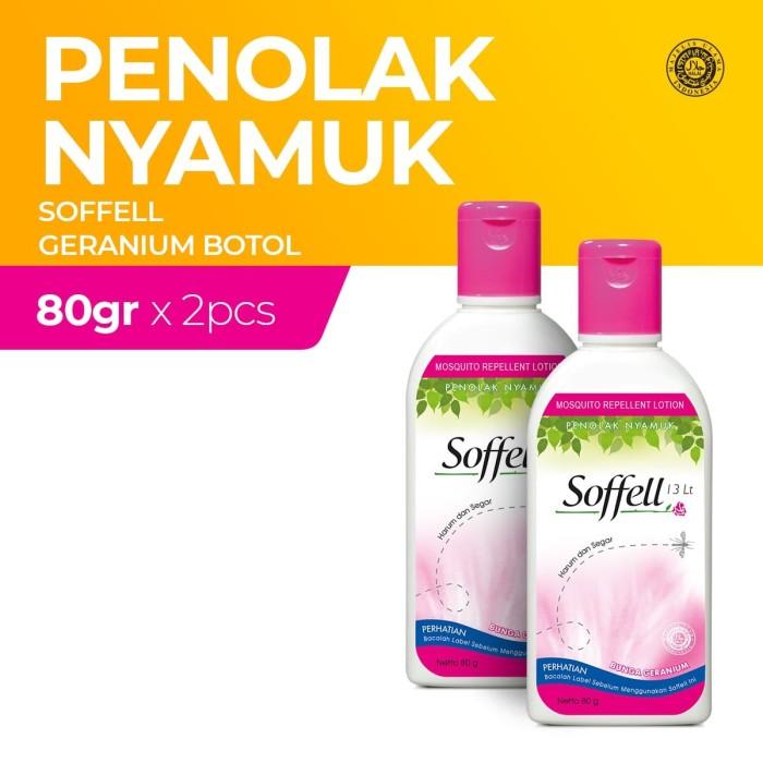 Foto Produk Soffell Botol Bunga Geranium 80Gr - 2 Botol dari Enesis Official Store