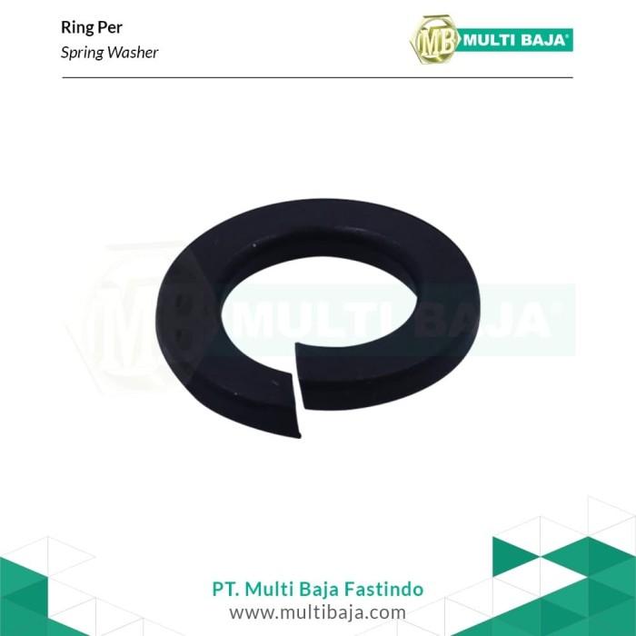 Foto Produk Baja Ring Per M10 (Hitam) dari Multi Baja Fastindo