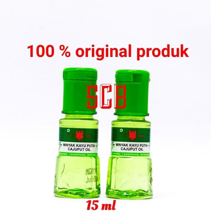 Foto Produk Minyak Kayu Putih Cap Lang (Kecil) / Cajuput Oil 15ml dari Toko Obat SCB