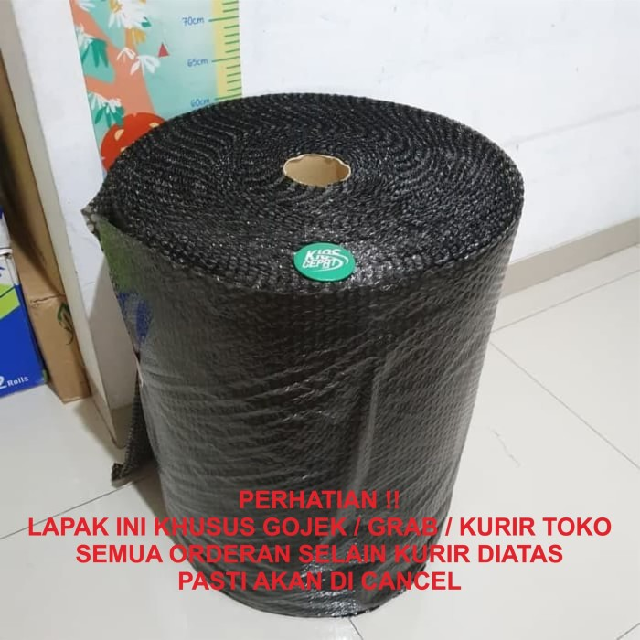 Foto Produk [GO SEND] Bubble Wrap 50m x 60cm BLACK Harga Promo dari KiosCepat