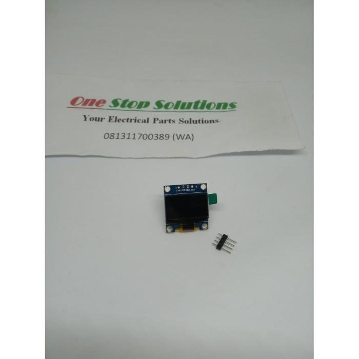 Foto Produk MODUL DISPLAY OLED 128X64 LCD 12C 0 96 INCH WHITE ARDUINO dari OneStop Solutions