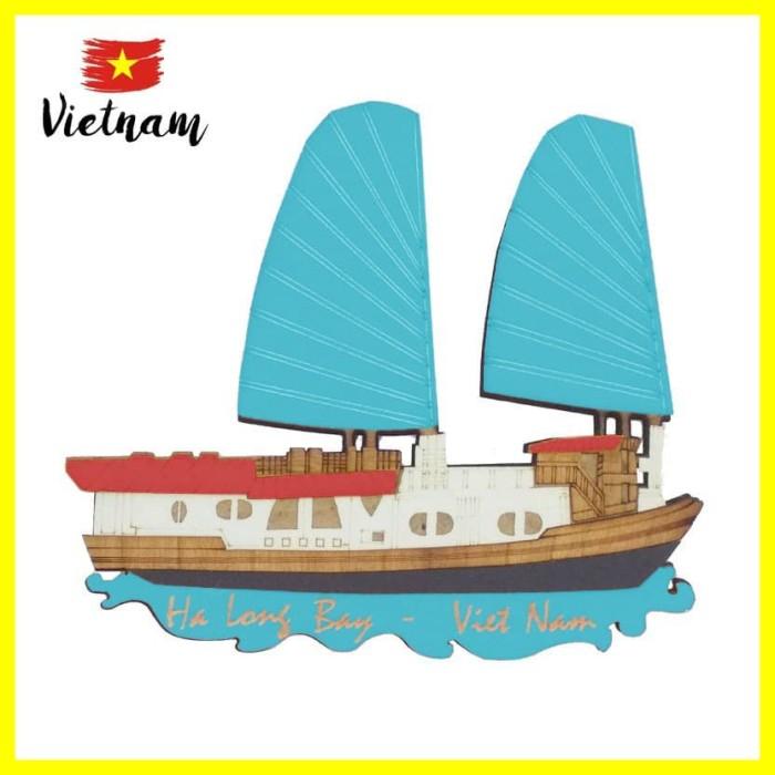Foto Produk Souvenir Mancanegara Magnet Tempelan Kulkas Vietnam Ha Long Bay Biru M dari Iyesh Online Store