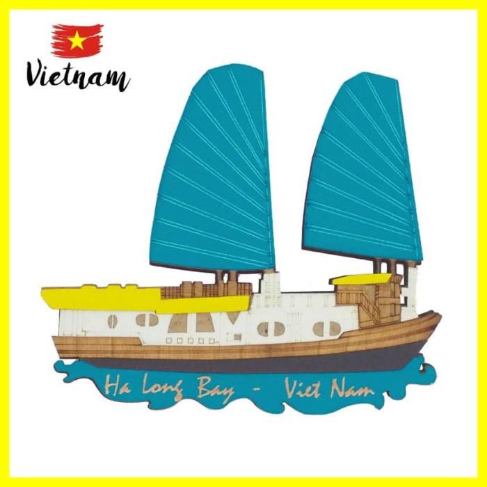 Foto Produk Souvenir Mancanegara Magnet Tempelan Kulkas Vietnam Ha Long Bay Biru T dari Iyesh Online Store