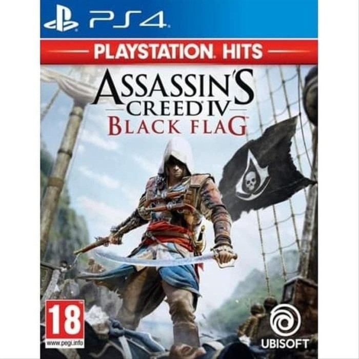 Jual Ps4 Assassins Creed Iv Black Flag Jakarta Barat Noona84