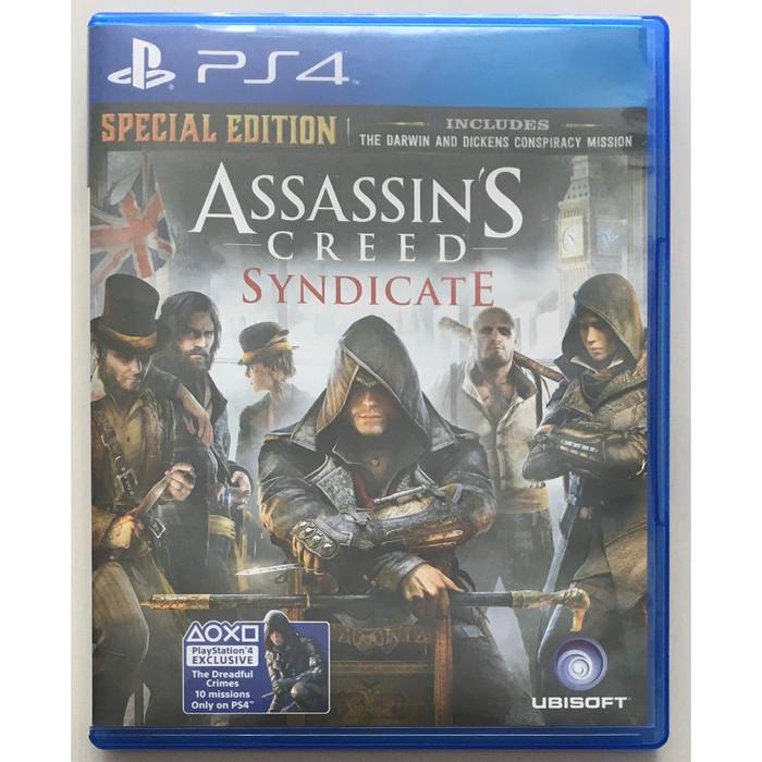 Jual Bd Kaset Game Ps4 Assassins Creed Syndicate Jakarta Barat