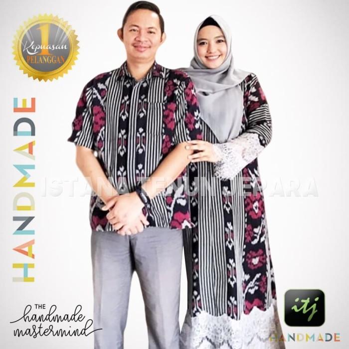 Jual Batik Couple Keluarga Tenun Ikat Blanket Troso Etnik Handmade Kab Jepara Istana Tenun Jepara Tokopedia
