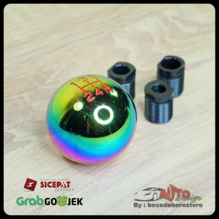Foto Produk Shift Knob Persneling Mobil Model Bulat - Universal dari becedeberestore
