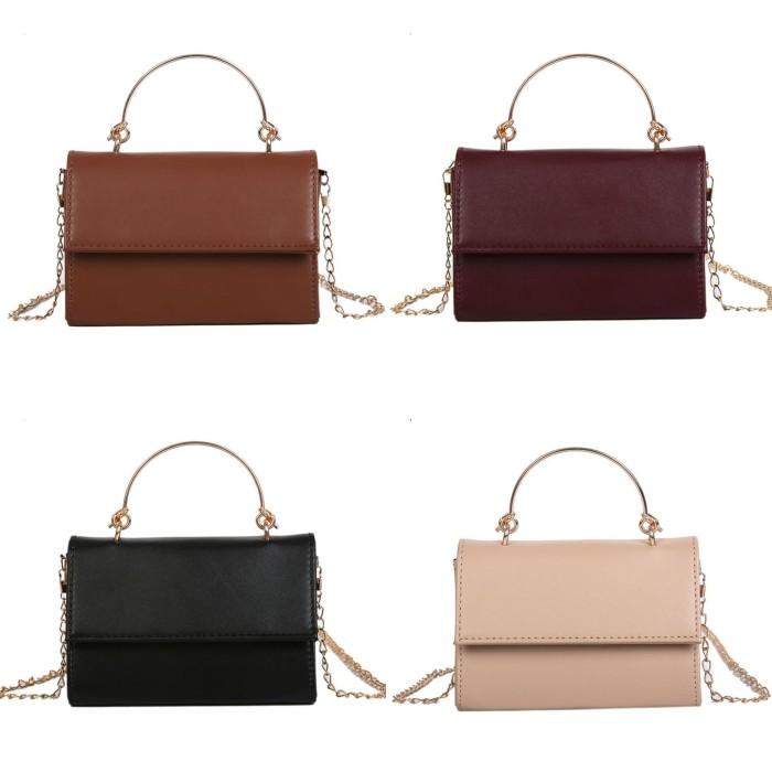 Foto Produk Tas korea wanita import Diera cluth bag Tas fashion - Merah Muda dari Naufal Galery