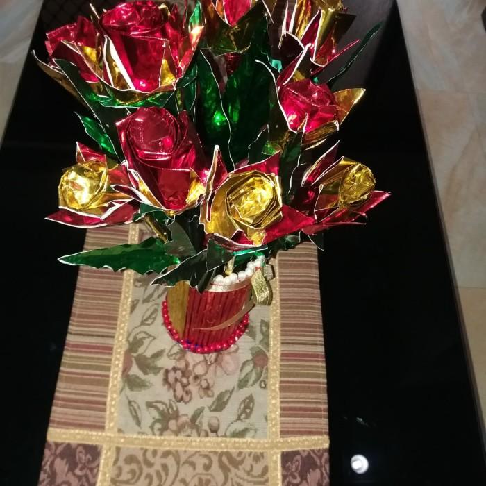 Jual Bunga Mawar Origami Kab Bogor Ikewa Shopee Tokopedia