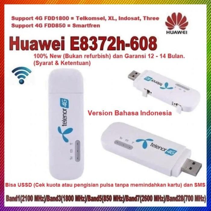 Unlocked Huawei E8372h-608 150Mbps 3G 4G LTE USSD  Wireless WiFi USB Car Modem