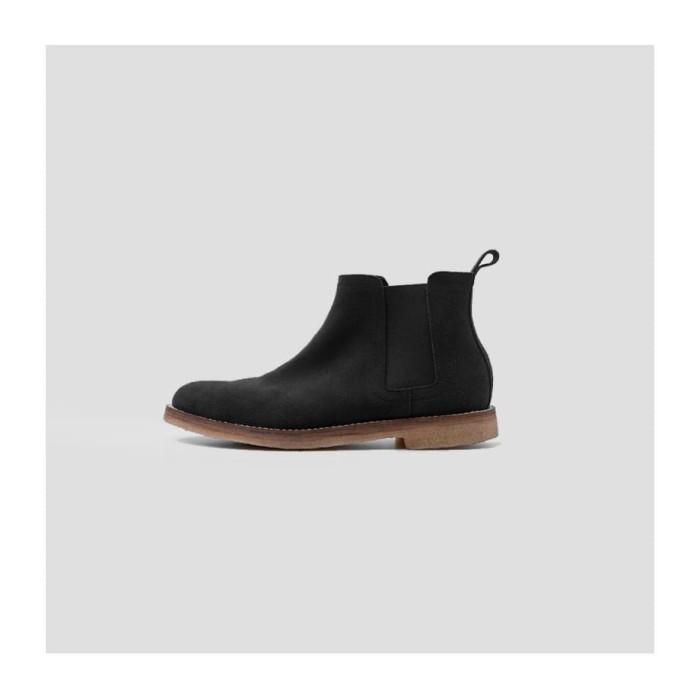 Foto Produk Portee Goods Chelsea Boots Suede Black - 40 dari portee goods