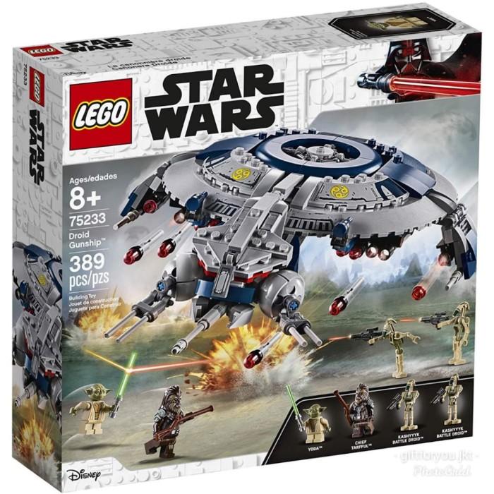 Jual Lego Star Wars The Revenge Of The Sith Droid Gunship Pesawat No 75233 Jakarta Selatan Giftforyou Jkt Tokopedia