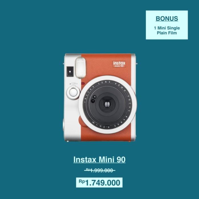 harga Fujifilm instax polaroid mini 90 neo classic (brown) Tokopedia.com