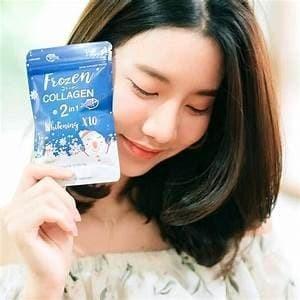 "Foto Produk Frozen Collagen ORIGINAL By Gluta Frozen ""SKIN WHITENING"" HALAL dari medikaherbs.id"