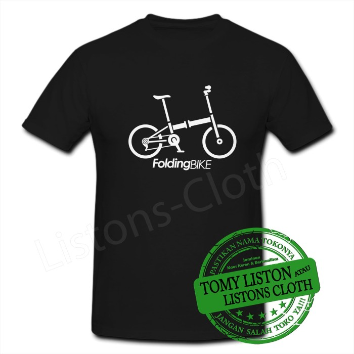 Foto Produk Kaos folding bike sepeda lipat dari Listons-cloth