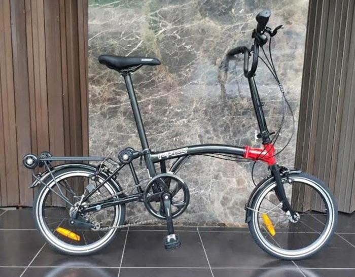 Jual sepeda lipat element pikes 3 speed gen 2 - Jakarta