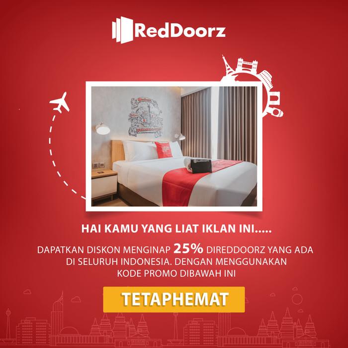 Jual Kode Promo Diskon 25 Reddoorz Kota Tangerang Selatan Penginapan Reddoorz Tokopedia