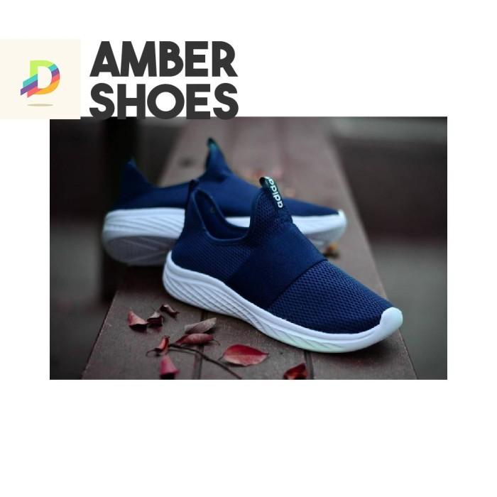 Jual Terbaru Sneakers Pria Tanpa Tali Sepatu Adidas Shock Zoom