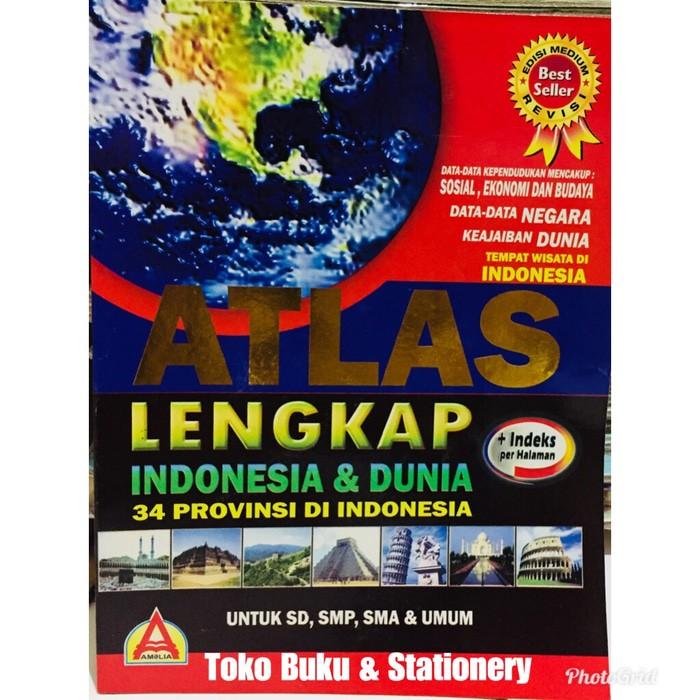 Jual Promoatlas Buku Atlas Lengkap 34 Provinsi Indonesia Buku Peta Global Jakarta Selatan Rizki Kuswandari Tokopedia