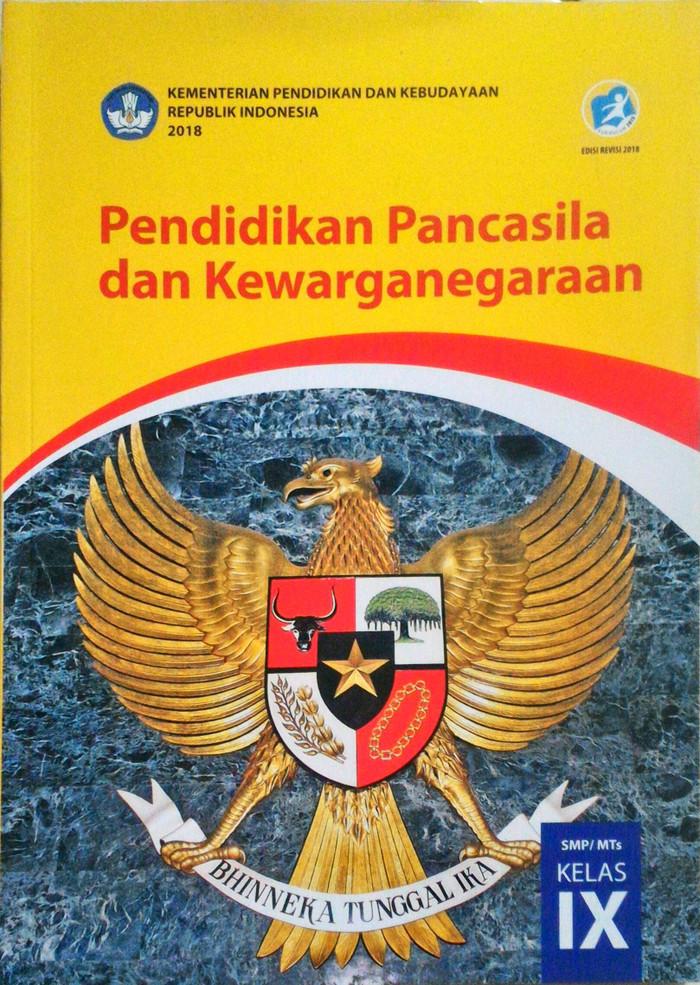 Jual Buku Smp Kelas 3 Ppkn Kelas 9 Ix Kurikulum 2013 Edisi Revisi 2018 Jakarta Selatan Paramita Mandala Tokopedia