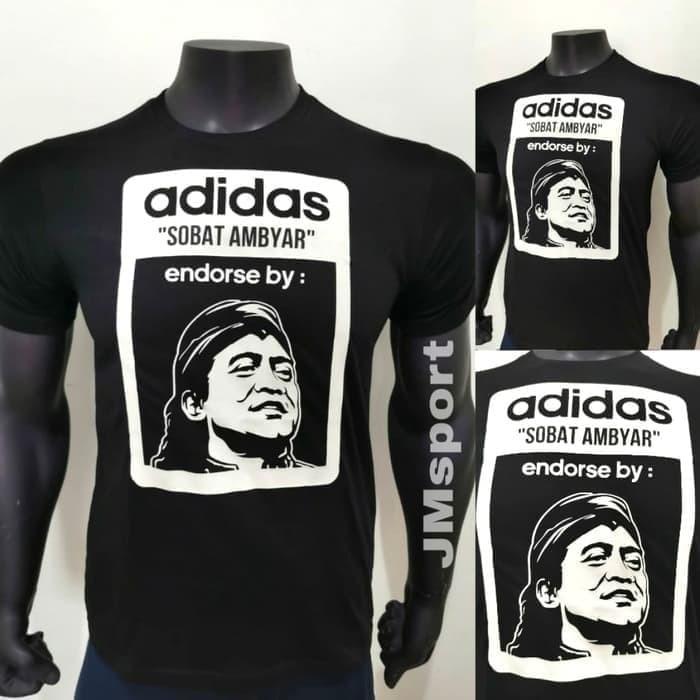 Jual Kaos Baju Obral Combed 30 Distro Adidas Endorsed By Didi